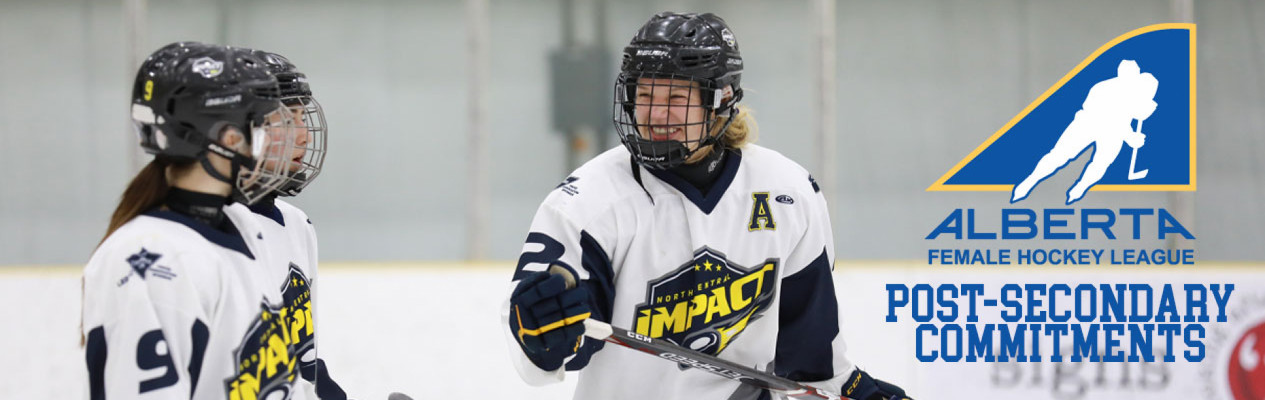 AFHL Players Committed to Post-Secondary Institutions for 2020-21 Season